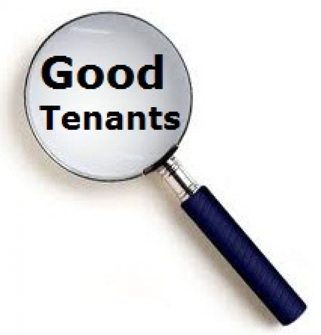 Looking for good tenants