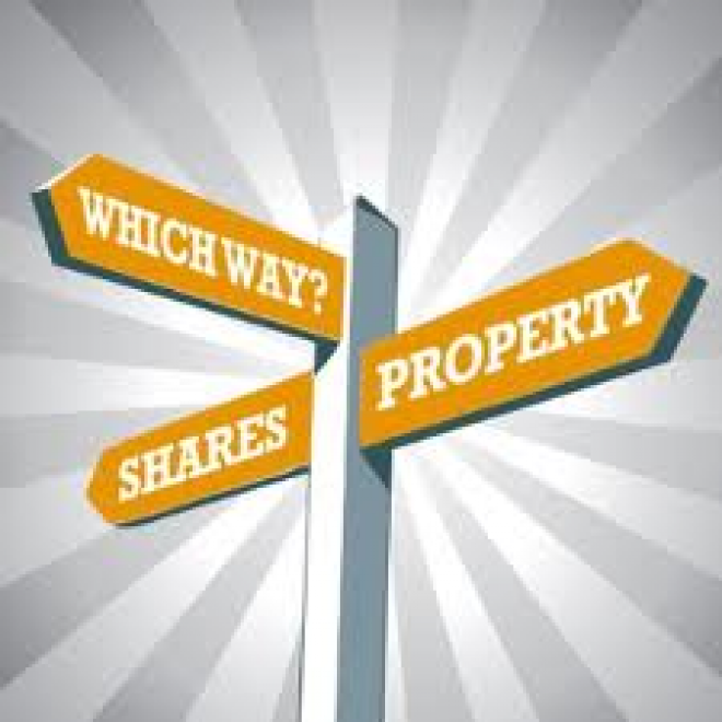 property vs shares